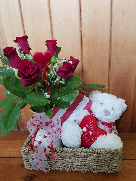 Bloomers Premium Chocolates and Hugs