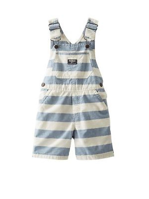 Blue and White stripe OshKosh overalls