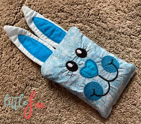 Blue Bunny Animal Wheat Bag 2
