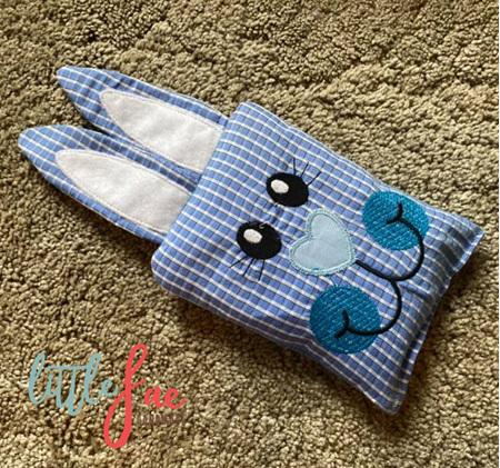 Blue Bunny Animal Wheat Bag