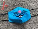 Blue Bunny Face Mask
