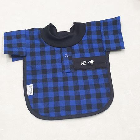 Blue Bush Shirt Bib