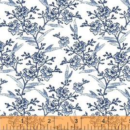 Blue Byrd Floral Sprigs in Porcelain 514281
