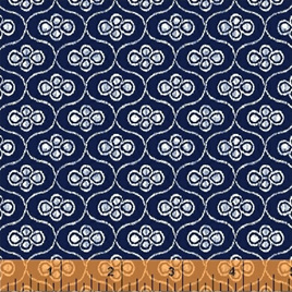 Blue Byrd Ogee in Navy 514272