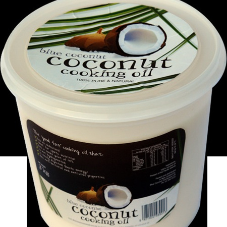 Blue Coconut Cooking Oil 4ltr (3.68kg)