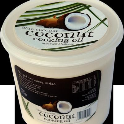 Blue Coconut Organic Coconut Oil 4ltr (3.68kg)
