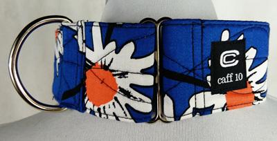 "Blue Daisy Designer 2"" Collar - caff 10"
