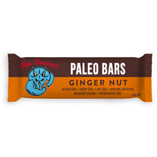 Blue Dinosaur Paleo Bars - Ginger Nut 45gm