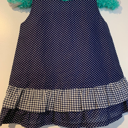 Blue Dots dress #2 - Size 2