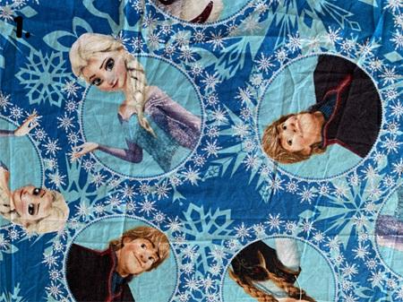 Blue Fabric Tones Lot 3