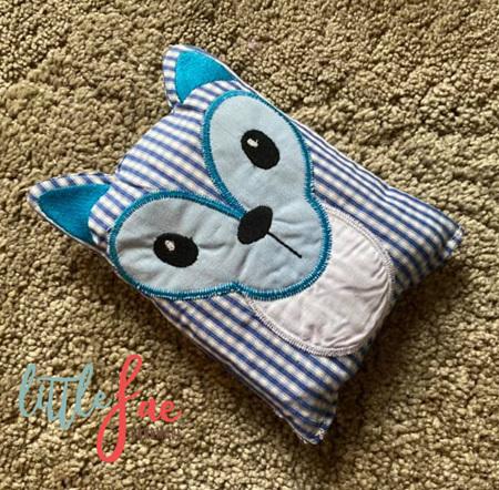 Blue Fawn Animal Wheat Bag