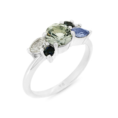 Blue Enchanted Forest Ring