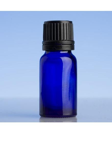 Blue Glass Bottle - 10ml with slow dripulator