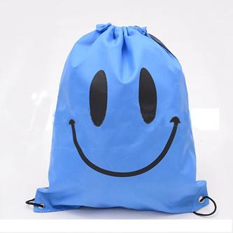Blue Happy Face Swim Bag