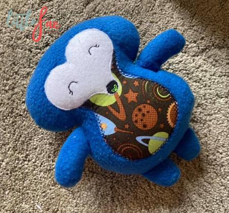 Blue Hedgehog Soft Toy