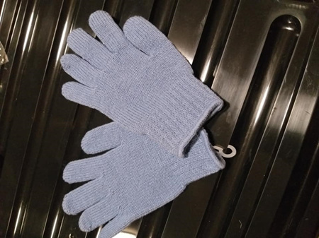 Blue Kids Gloves