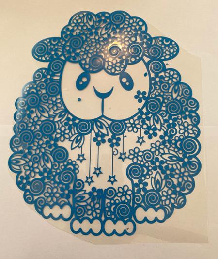 Blue Lamb Heat Press Vinyl