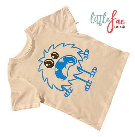 Blue Monster T-shirt