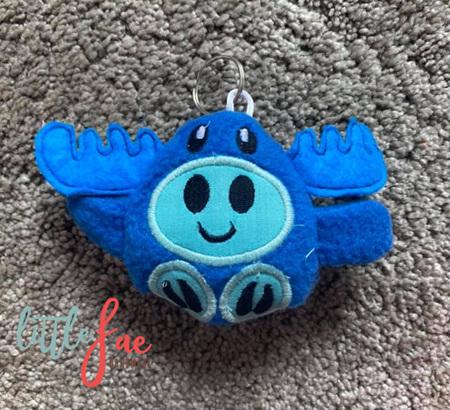Blue Moose Keyring
