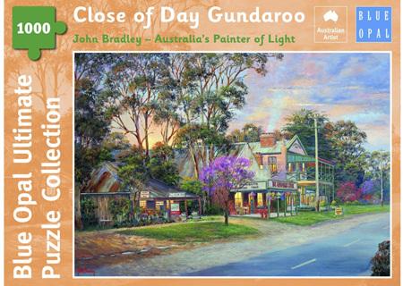 Blue Opal 1000 Piece Jigsaw Puzzle: Bradley - Close Of Day Gundaroo