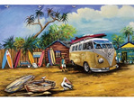 Blue Opal 1000 piece puzzle Bait and Rods Kombi buy at www.puzzlesnz.co.nz