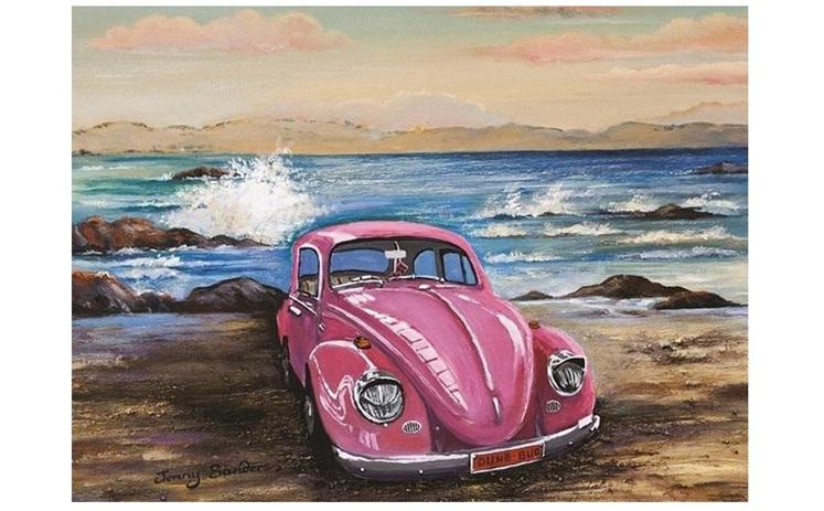 Blue Opal 1000 piece puzzle Dune Bug buy at www.puzzlesnz.co.nz
