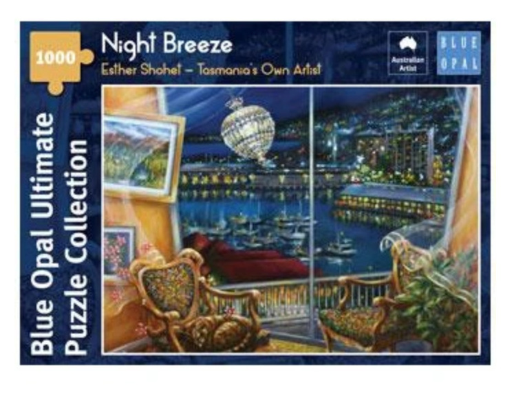 Blue Opal 1000 Piece  Puzzle  Night Breeze buy at www.puzzlesnz.co.nz