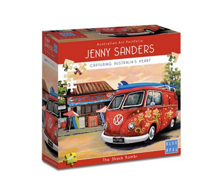 Blue Opal 1000 piece puzzle The Shack Kombi buy at www.puzzlesnz.co.nz