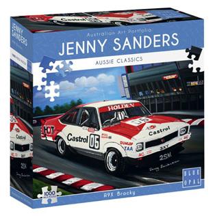 Blue Opal 1000 Piece Jigsaw Puzzle: Sanders - A9X Brocky