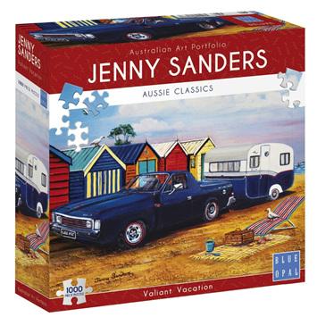Blue Opal 1000 Piece Jigsaw Puzzle: Sanders - Valiant Vacation
