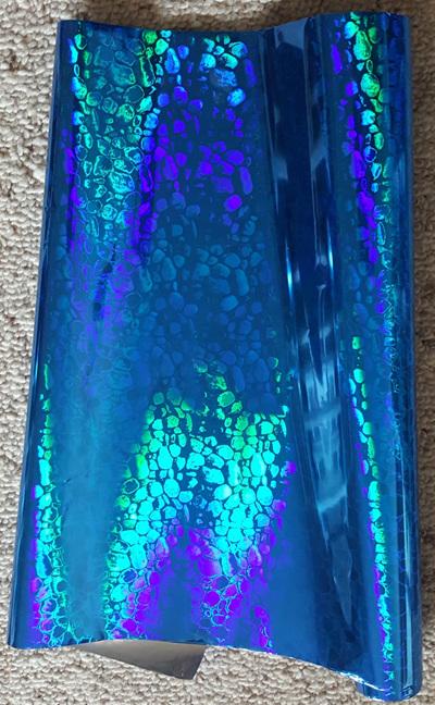 Blue Pebbles Foil