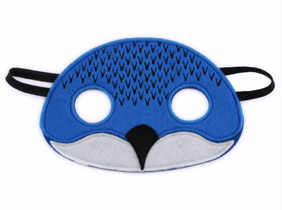 Billy the Blue Penguin Mask