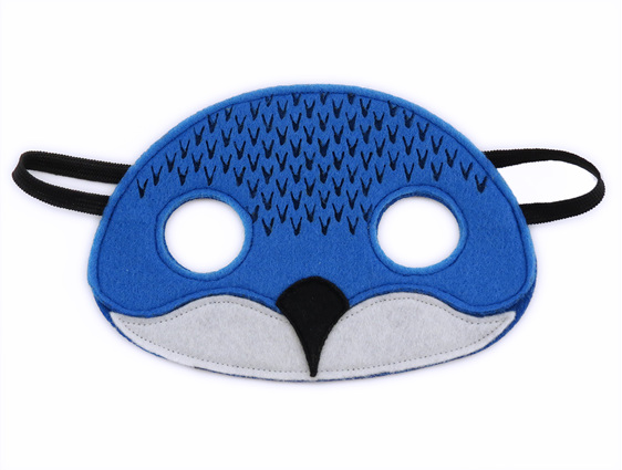 Blue penguin mask