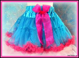 """""""Blue & Pink Pettiskirt"""""""