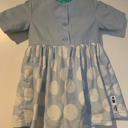Blue pinwhale corduary dress #1 - Size 2