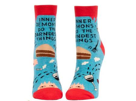 BLUE Q Ankle Socks Inner Demons