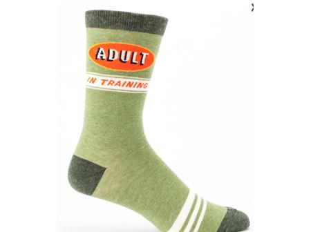 BLUE Q Mens Socks Adult in Training