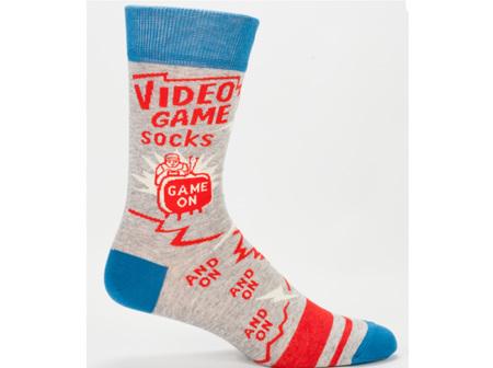BLUE Q Mens Socks VideoGame BQSW815