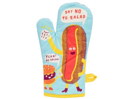BLUE Q Oven Mitt Say No To Salad