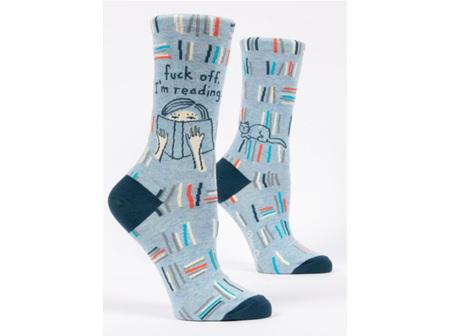 BLUE Q Socks F... Off Im Reading