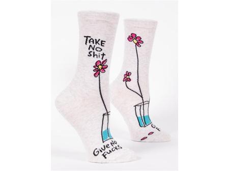 BLUE Q Socks Take No S?