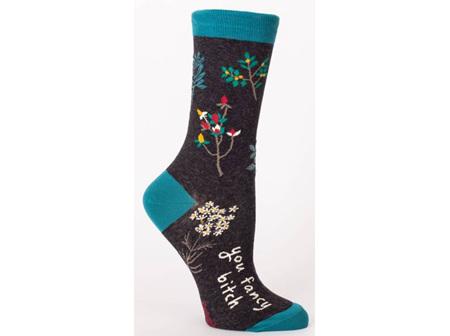 BLUE Q Socks You Fancy B?