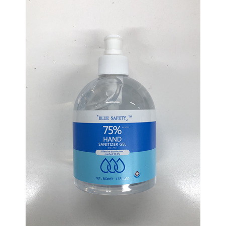 BLUE SAFETY HAND SANITISER 500ML