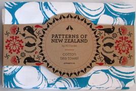 Blue Shells Tea Towel - Ali Davies Design