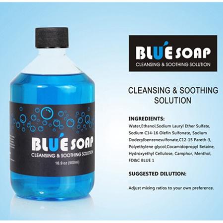 Blue Soap 500ml with Foaming Bottle