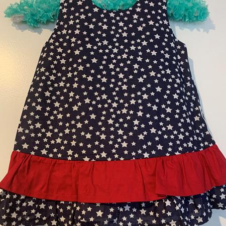 Blue Stars dress #2 - Size 2