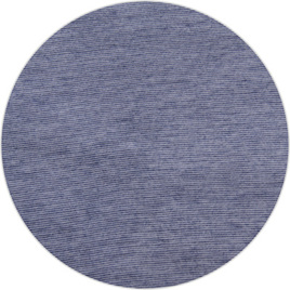 """Blue Stripe"", 50/50 Merino/Cotton Blend, 140 gsm"
