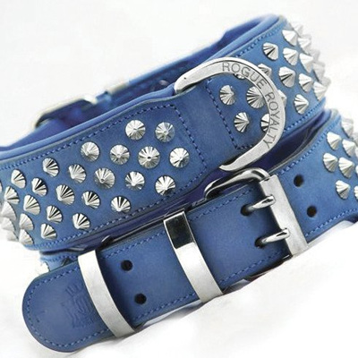 Rogue Royalty Imperial Blue Diamond Collar