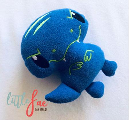Blue Trex Soft Toy
