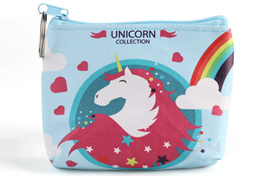 BLUE UNICORN COLLECTION COIN PURSE
